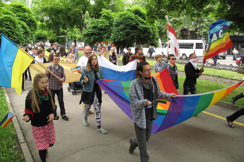 Lesbian, Gay, Bisexual, Transgender and Intersex (LGBTI) pride march. Photo: OHCHR/Joseph Smida