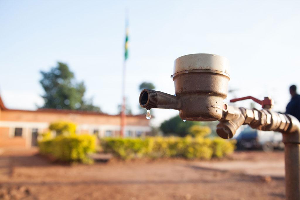 A water tap in Rwanda. Photo: World Bank/A'Melody Lee