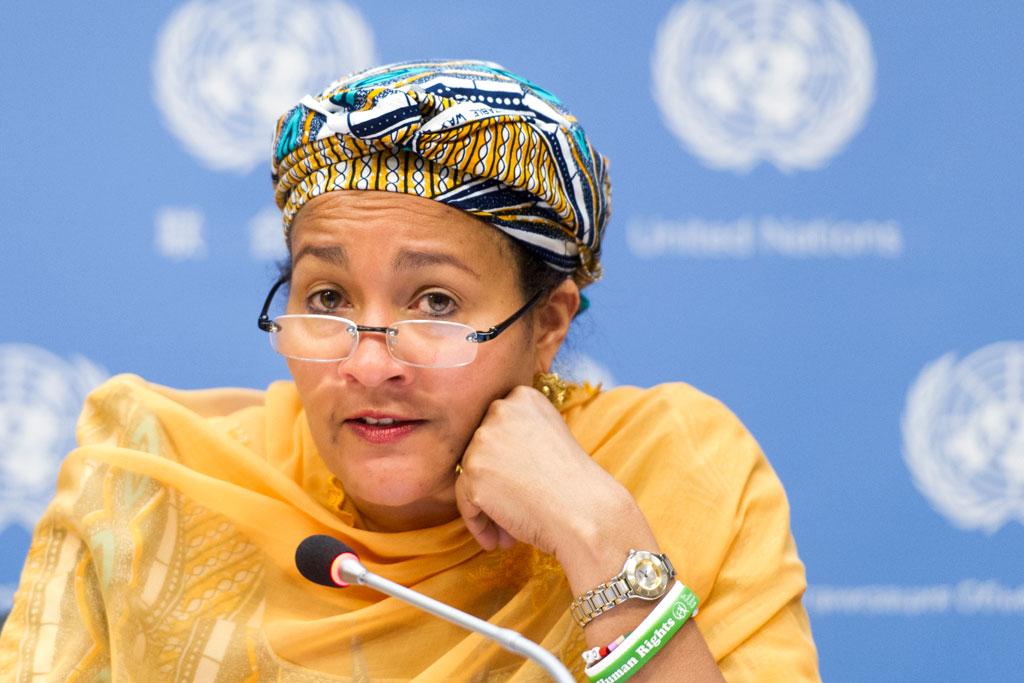 Amina J. Mohammed of Nigeria. UN Photo/Mark Garten