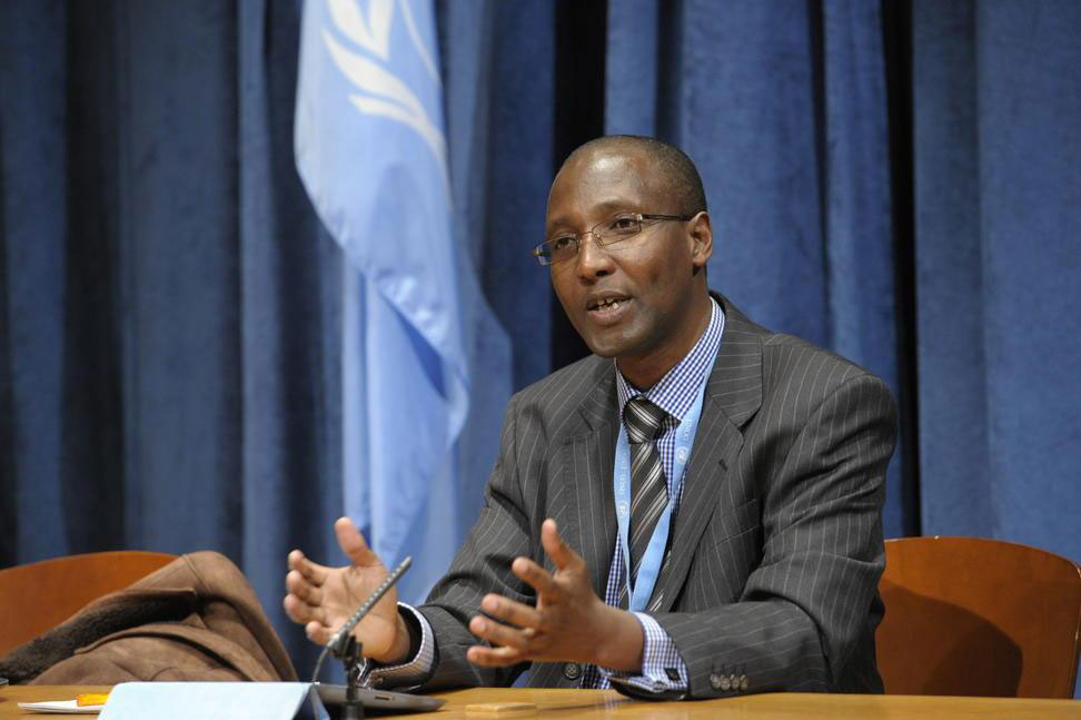 Special Rapporteur on racism Mutuma Ruteere. UN Photo/Evan Schneider