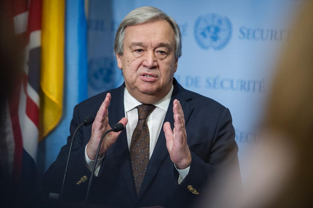Secretary-General António Guterres. UN Photo/Manuel Elias (file)