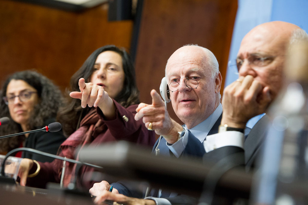 Syria negotiations may not yield breakthrough, but momentum needs to be maintained – UN envoy