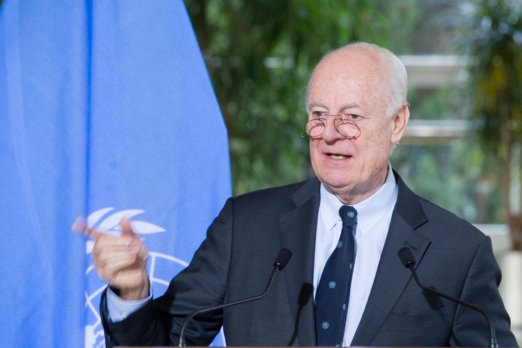 Special Envoy for Syria Staffan de Mistura. UN Photo/Violaine Martin (file)