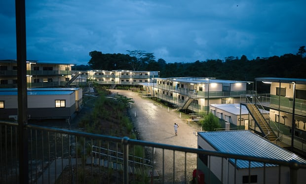 'The consequences of open-ended mandatory detention, inadequate conditions and indefinite limbo, are devastating, yet predictable.' Photo of detention facilities on Manus, August 2016. Photograph: Matthew Abbott/Get Up