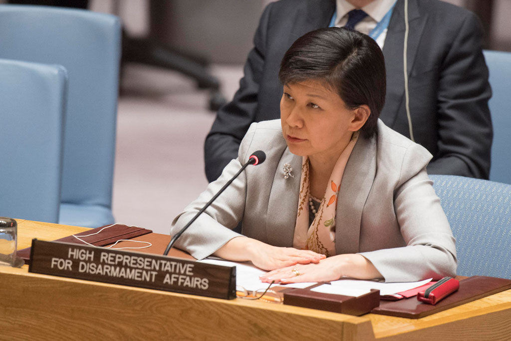 Security Council meeting on The situation in the Middle East. Letter dated 26 October 2017 from the Secretary-General addressed to the President of the Security Council (S/2017/904) Letter dated 25 October 2017 from the Secretary-General addressed to the President of the Security Council (S/2017/905) Letter dated 30 October 2017 from the Secretary-General addressed to the President of the Security Council (S/2017/916) High Rep of Disarmament Affairs.