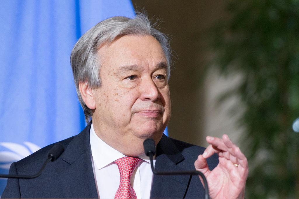 UN chief urges vigilance against anti-Semitism and discrimination of all kinds