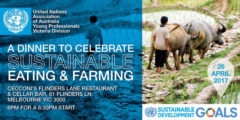 Young Professionals Network: A Dinner to Celebrate Sustainable Eating and Farming