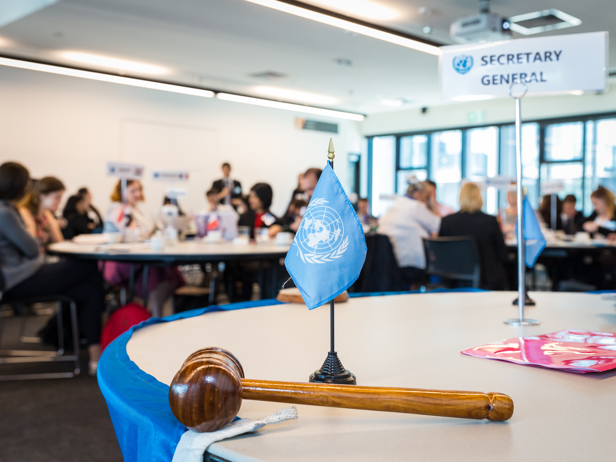Modern slavery – today's greatest threat to human rights? Be a UN Delegate for a day to debate this vital topic.